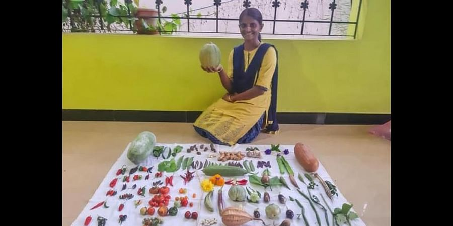 Priya has been passing on her knowledge to those who want to raise their garden.