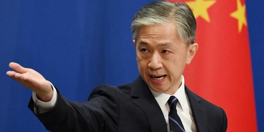 China'sForeign Ministry spokesman Wang Wenbin
