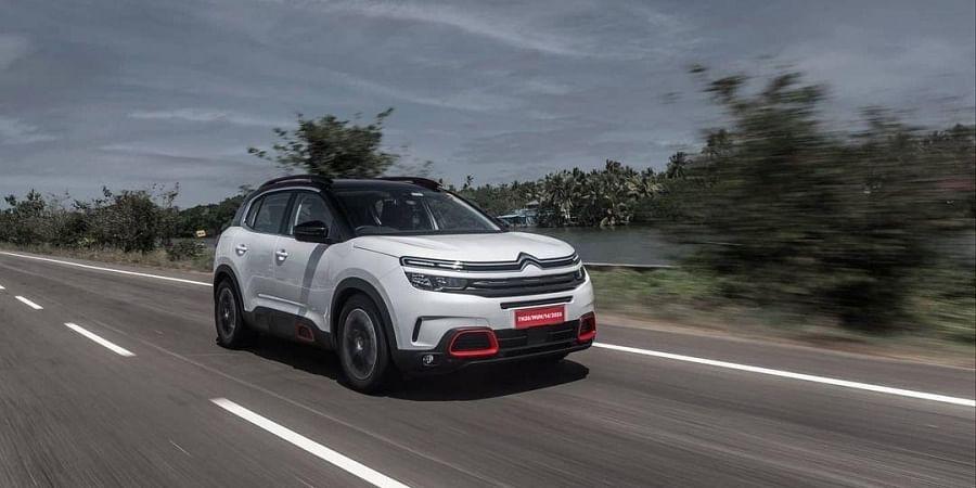 Citroën C5 Aircross ( Photo   Instagram/citroen_india)