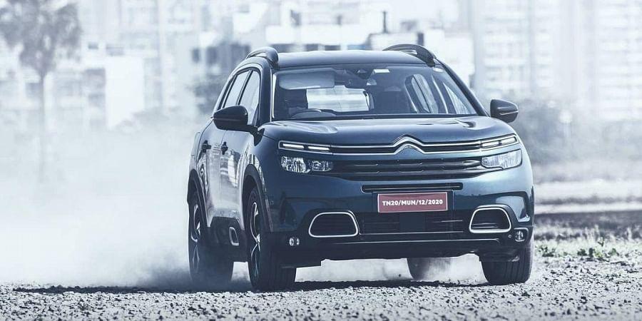 Citroën C5 Aircross ( Photo | Instagram/citroen_india)