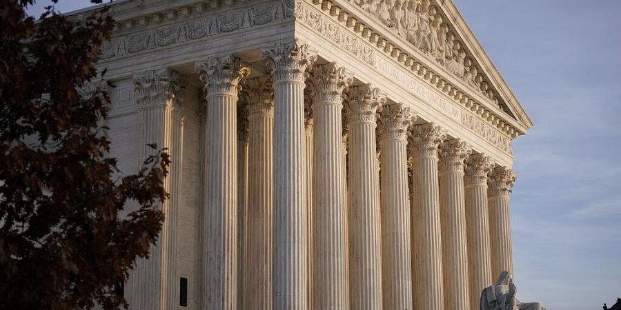 This Nov. 5, 2020 file photo, shows the Supreme Court in Washington. (Photo   AP)