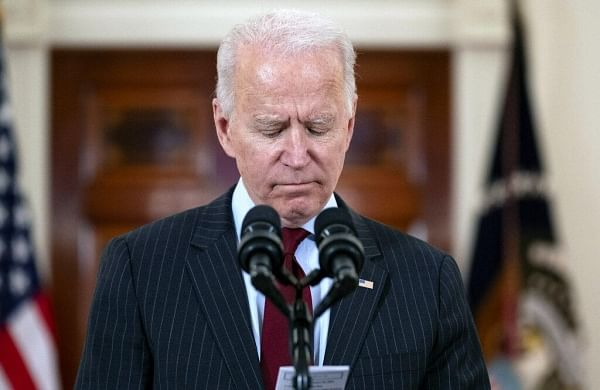 President Joe Biden calls 500,000 death toll in US a 'heartbreaking milestone'- The New Indian Express