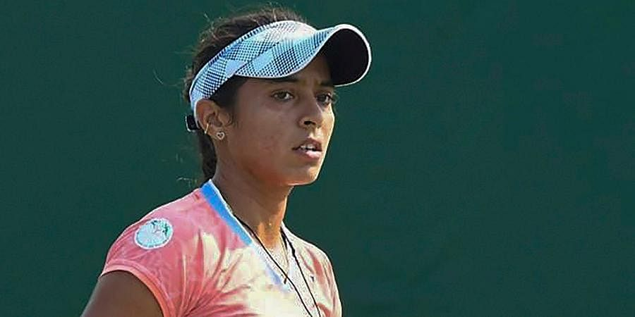 Indian tennis star Ankita Raina