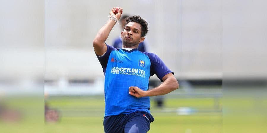 Sri Lankan bowler Dasun Shanaka