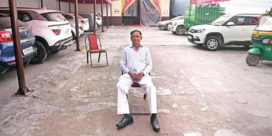 Brahm Singh's garage was completely burnt down. He is yet to receive any compensation from the government.