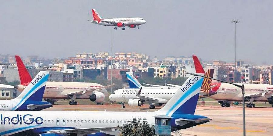 The Delhi airport is on alert following circulation of mutant variants of Covid-19