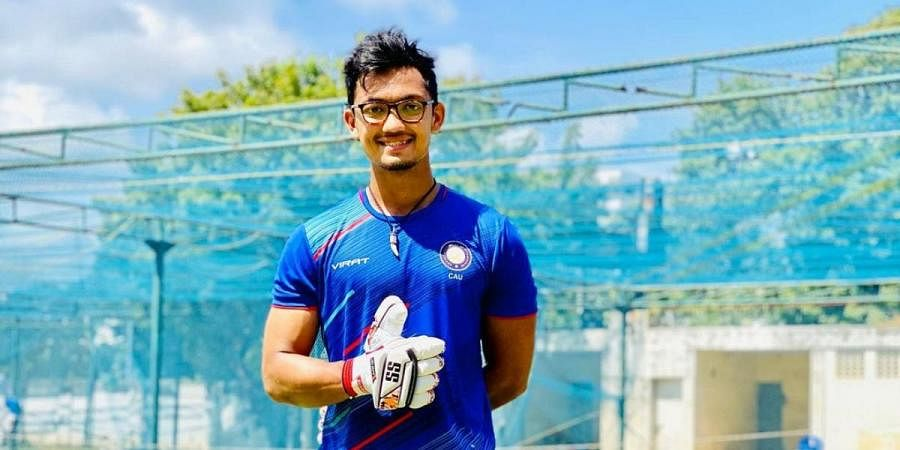 Uttarakhand batsman Jay Bista