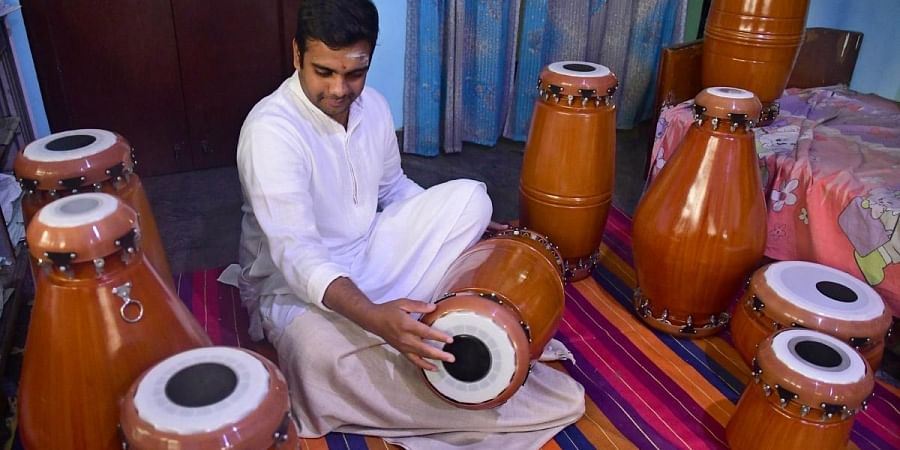 A growing trend, vegan musical instruments are becoming increasingly popular in the city. (Photo | Ashishkrishna HP, EPS)