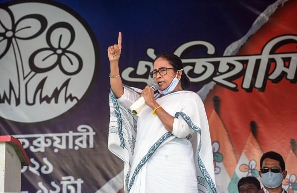 Bengal polls: Mamata likens Modi, Shah to grotesque Ravan, overweight monster