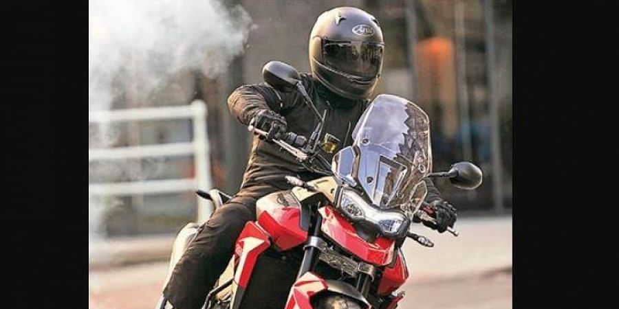 The Triumph Tiger 850 Sport is priced at Rs 11.95 lakh.