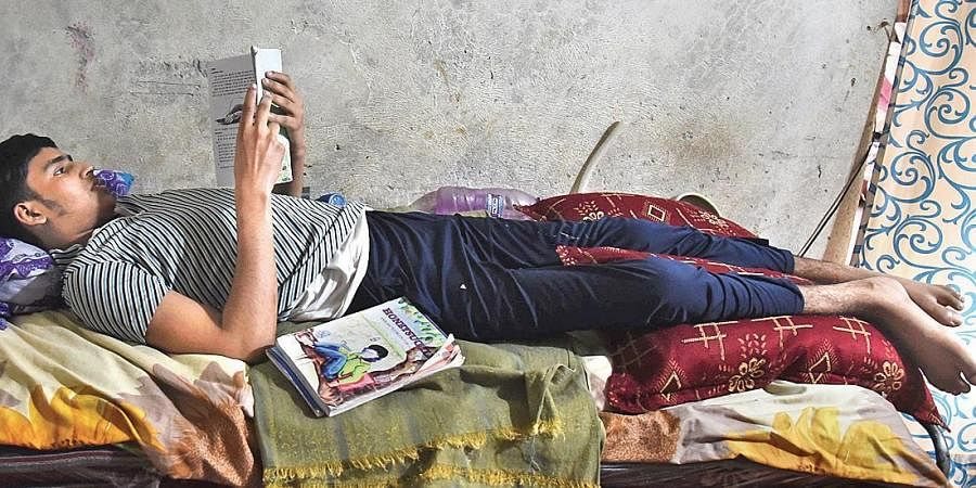17-year-old Sameer survived a gunshot but his lower body was paralysed