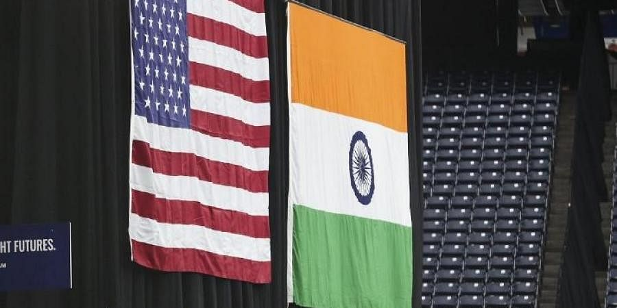 India-US relations, India-US ties, India-US flags