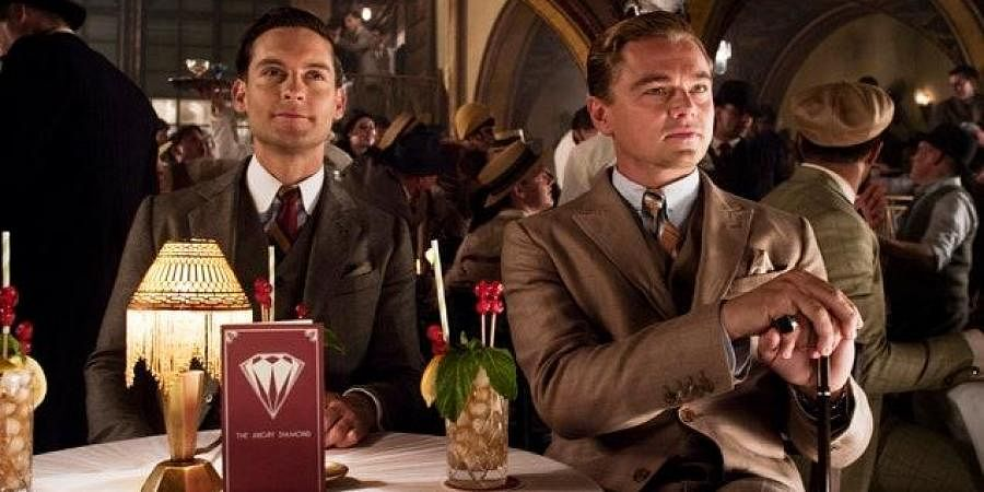 Toby McGuire and Leonardo DiCaprio in a still from 'The Great Gatsby'