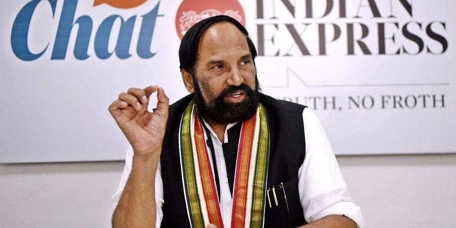TPCC chief Uttam Kumar Reddy