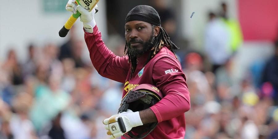 NAME: Chris Gayle   TEAM: West Indies   MATCHES: 58   INNINGS: 54   TOTAL RUNS: 1627   HIGHEST SCORE: 117   100s: 2   50s: 13   AVERAGE: 32.54   STRIKE RATE: 142.84   SIXES: 105
