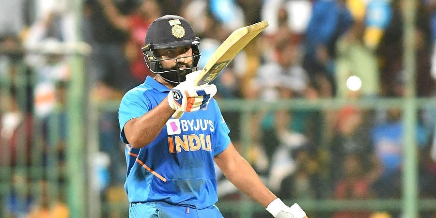 NAME: Rohit Sharma   TEAM: India   MATCHES: 108   INNINGS: 100   TOTAL RUNS: 2773   HIGHEST SCORE: 118   100s: 4   50s: 21   AVERAGE: 32.62   STRIKE RATE: 138.72   SIXES: 127