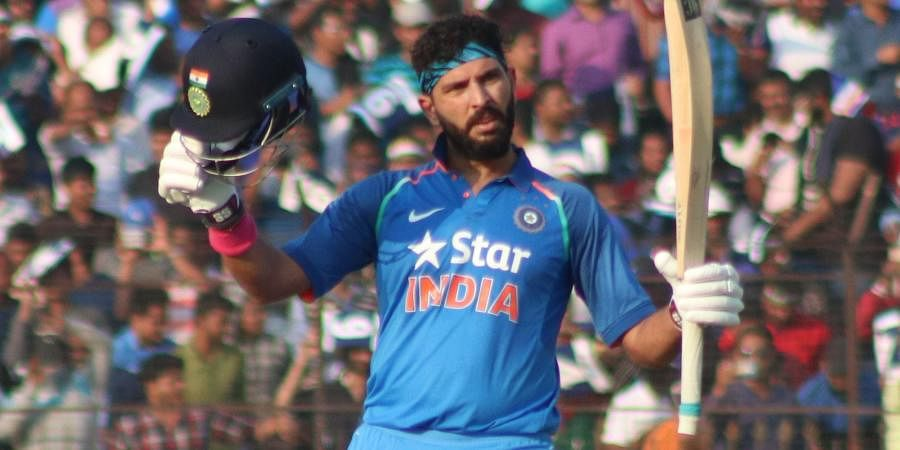NAME: Yuvraj Singh   TEAM: India   MATCHES: 58   INNINGS: 51   TOTAL RUNS: 1177   HIGHEST SCORE: 77*   100s: 0   50s: 8   AVERAGE: 28.02   STRIKE RATE: 136.38   SIXES: 74