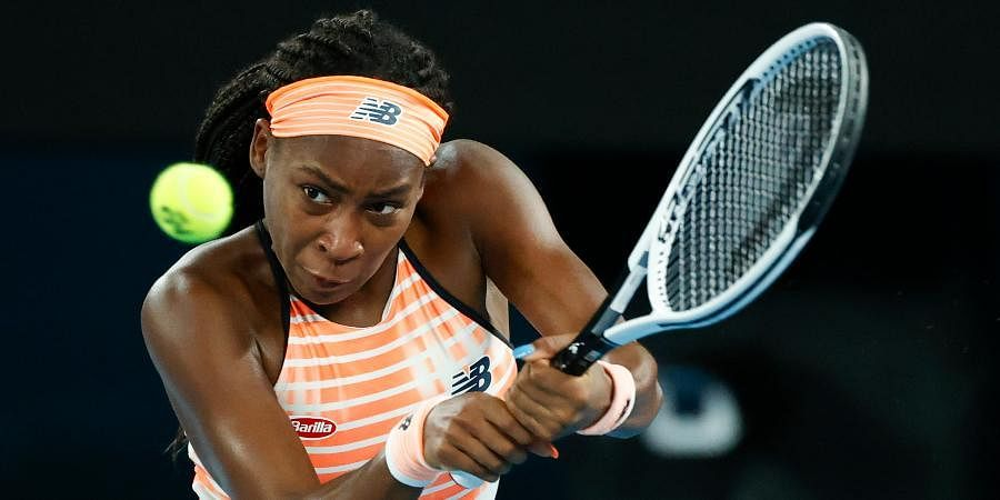 Coco Gauff has won five straight matches, including two in qualifying in Adelaide.