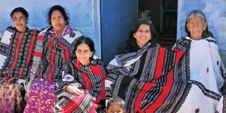 The Toda tribeswomen