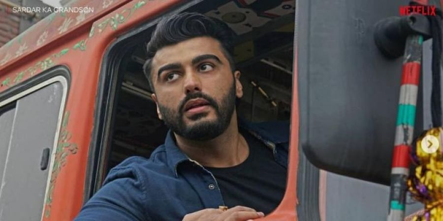 Arjun Kapoor in a still from 'Sardaron ke Grandson' (Photo   Arjun Kapoor, Instagram)