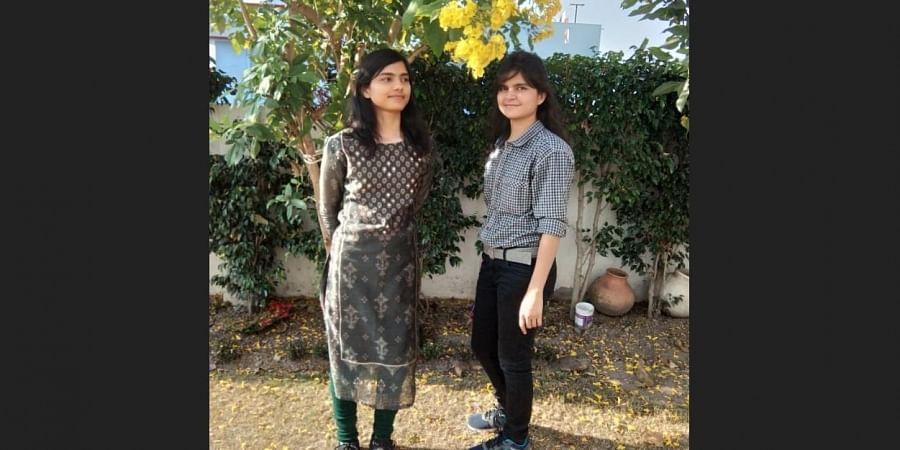 Shivani Mishra (26) and Himani Mishra (22)