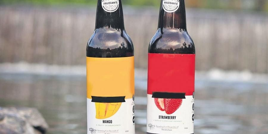 The basic difference in a traditional wine compared to Fruzzanté is that it's made from fruits other than grapes.