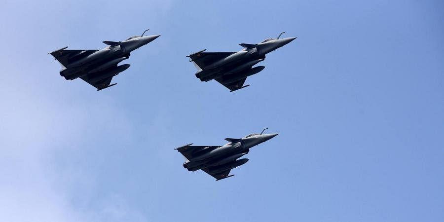 Rafale Fighter Jets. (Photo | Vinod Kumar T, EPS)