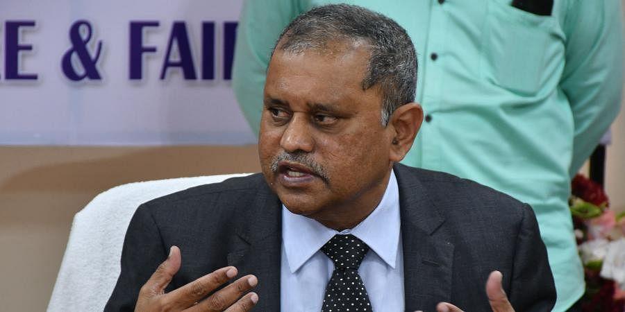 Andhra Pradesh Election Commissioner Nimmagadda Ramesh Kumar