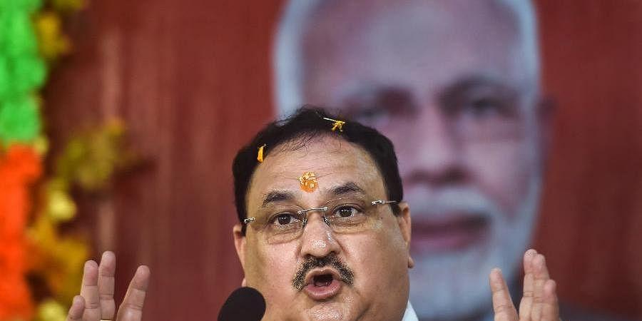 BJP president J P Nadda