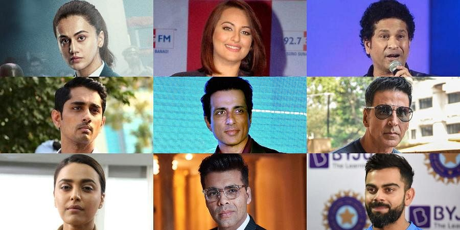 While some from the industry were direct in their criticism, including Pannu, actor-comedian Vir Das and 'Rang De Basanti' actor Siddharth, others took a dig at the 'puppet' show by big stars for the government.