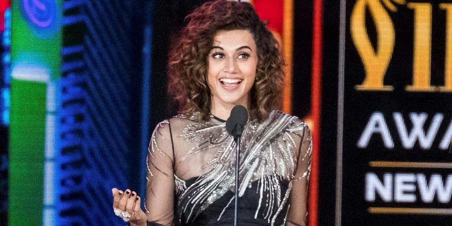 Taapsee Pannu, who has been a vocal supporter of the farmers' issue, took a jibe at the government's campaign and said one should focus on strengthening one's own value system than getting affected by a tweet. 'If one tweet rattles your unity, one joke rattles your faith or one show rattles your religious belief, then it's you who has to work on strengthening your value system not become 'propaganda teacher' for others,' Taapsee Pannu wrote.