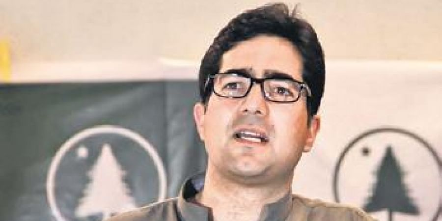 IAS officer-turned politician Shah Faesal