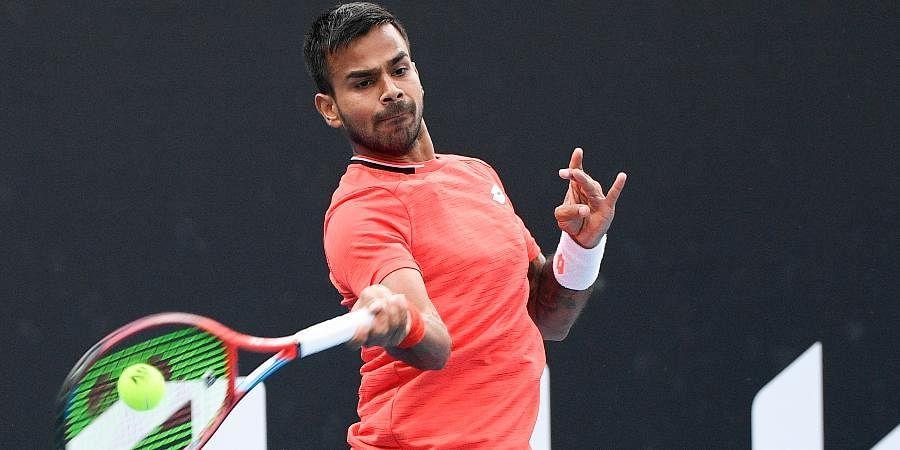Indian tennis star Sumit Nagal