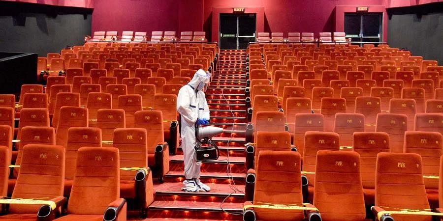 cinema hall, theatre, theater, film screen