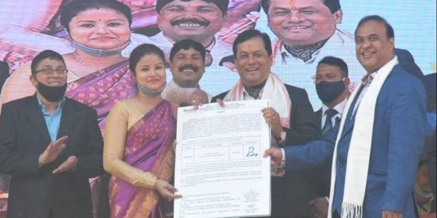 Assam CM, Sarbananda Sonowal