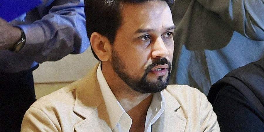 MoS Finance Anurag Thakur