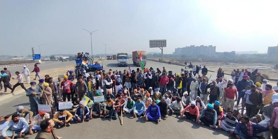 Chakka Jam, Farmer protest