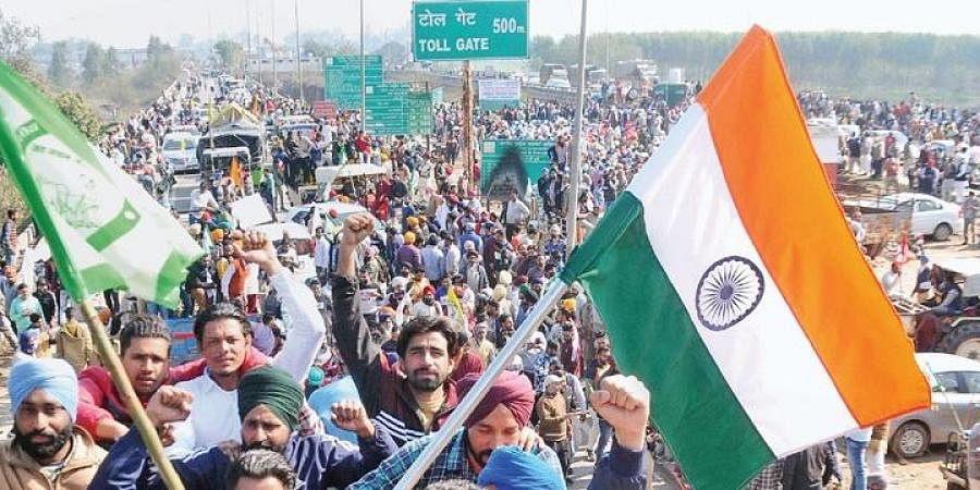 Shambhu Highway blocked during 'chakka jam' in Patiala