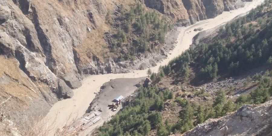 A massive flood has been reported in Dhauliganga river, following an avalanche near Rishiganga Power Project in Chamoli district