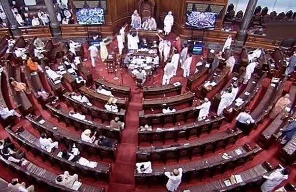 Rajya Sabha adjourned till 1 pm amid Opposition uproar over fuel prices