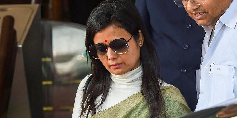 Trinamool Congress MP Mahua Moitra
