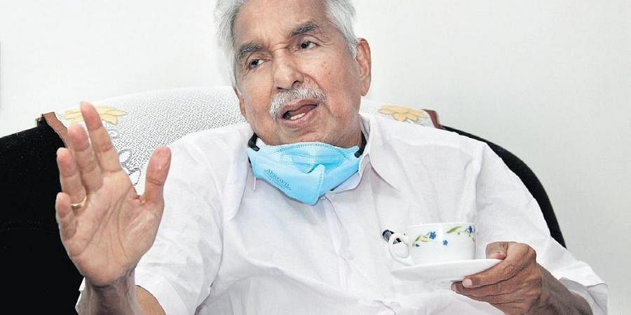 Former Chief Minister Oommen Chandy