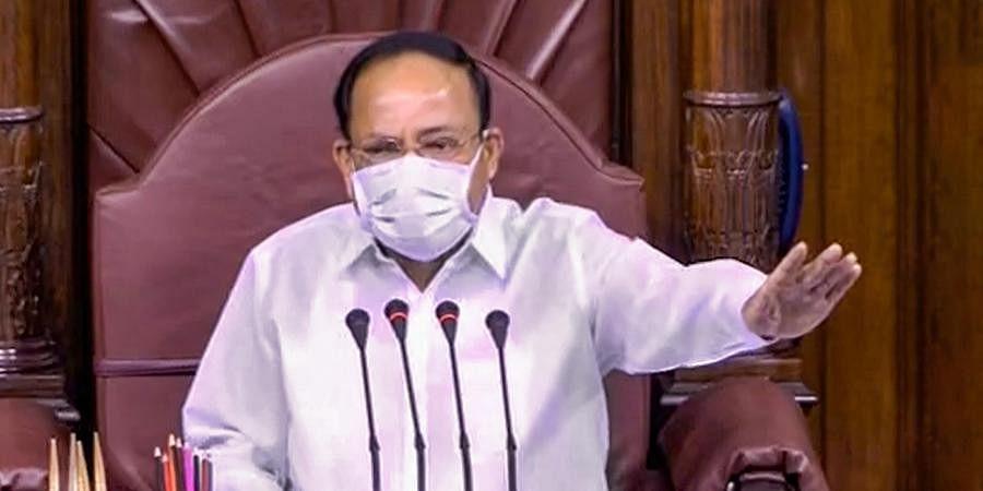 Rajya Sabha Chairman Venkaiah Naidu.