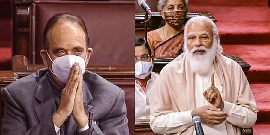 Ghulam Nabi Azad, PM Modi