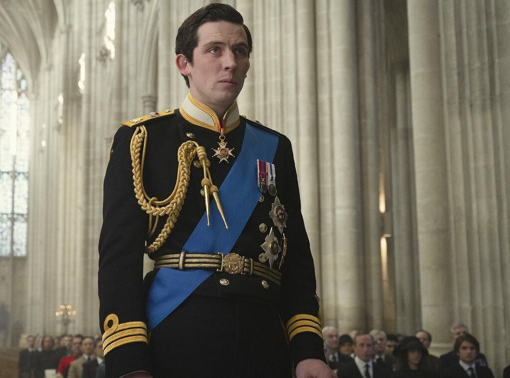 Josh O'Connor won the award for best television actor in a drama series. In picture, Josh O'Connor as Prince Charles in the show 'The Crown. (Photo | AP)'