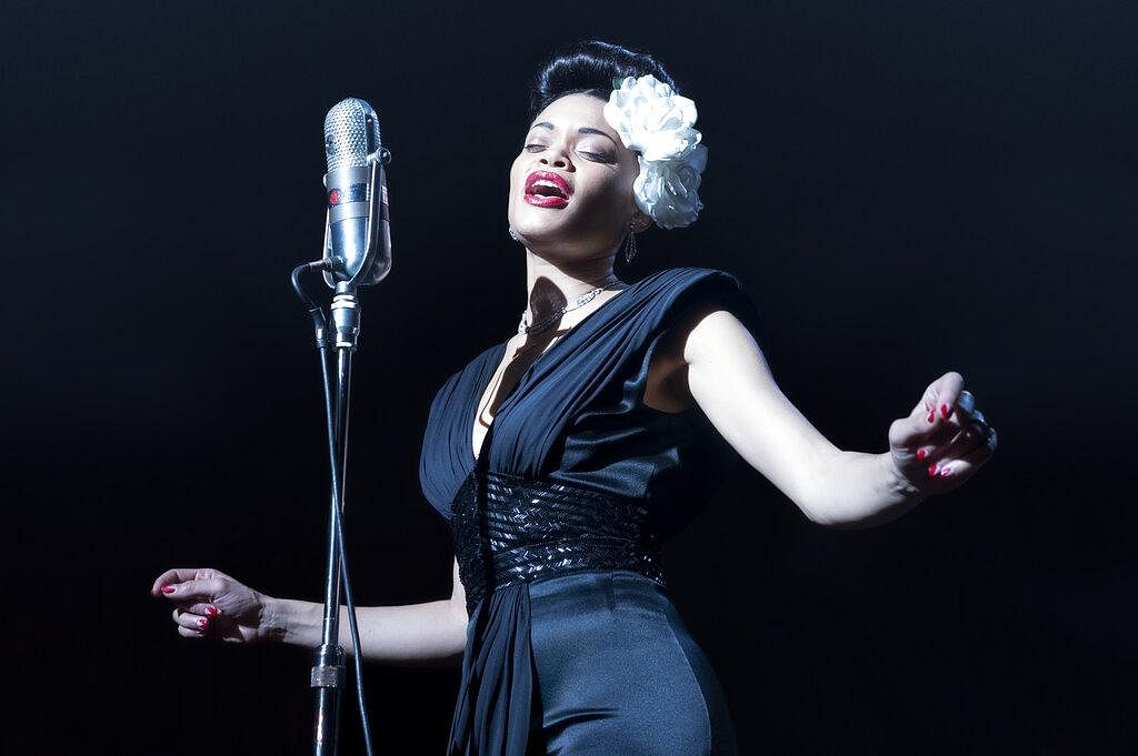 Andra Day in 'The United States vs Billie Holiday.' Day accepted the award best actress in a motion picture drama. (Photo | AP)
