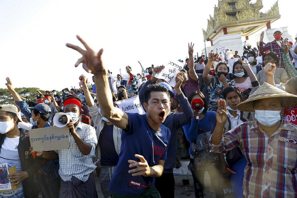 The election commission that refuted those allegations and affirmed Suu Kyi's party won in a landslide, was purged by the ruling junta. Resulting in countrywide protests, bloodshed and more agony. (Photo | AP)