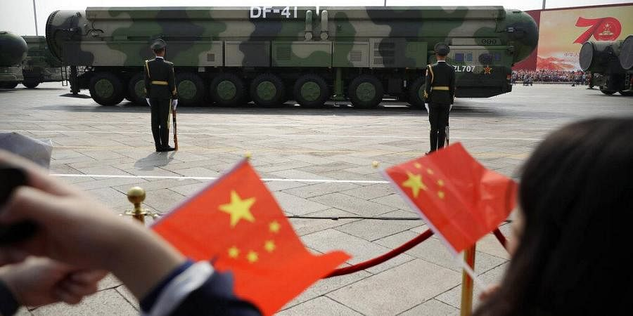 China appears to be moving faster toward a capability to launch its newer nuclear missiles from underground silos, possibly to improve its ability to respond promptly to a nuclear attack. (Photo | AP)