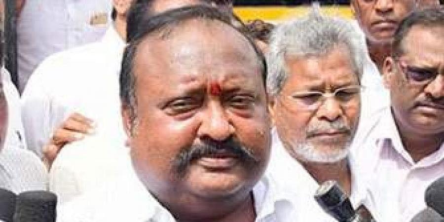 TelanganaBC Welfare minister Gangula Kamalakar