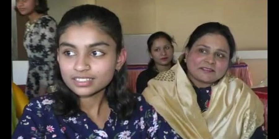 Mushariff Khan with her mother Zeenat Khan. (Photo | Special Arrangement)